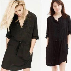 Black Anthropologie Lou & Grey Shirt dress